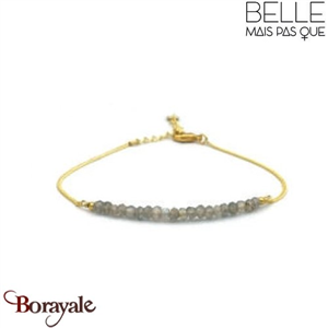 """Bracelet """"Belle mais pas que"""" Collection Golden Grey BCH-02"""
