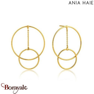 Collection Modern Minimalism, Boucles d'oreilles ANIA HAIE E002-04G