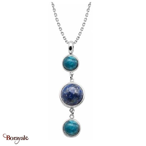 Collier apatite , lapis et apatite, Collection: Cabochon YOLA