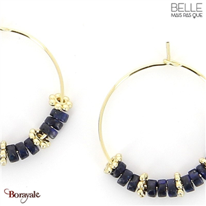Boucles d'oreilles -Belle mais pas que- collection Mila BO2 MILA2-BO2