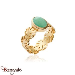 Plaqué Or : Bague Collection Aventurine