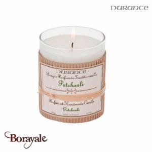 Bougie traditionnelle DURANCE 180g Patchouli
