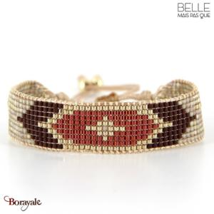 bracelet -Belle mais pas que- collection Rusty gold B-1720-RUSTY