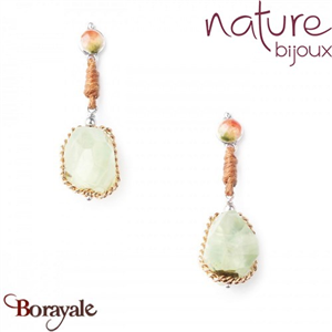 Collection Botaniste, Boucles d'oreilles NATURE 12--76107