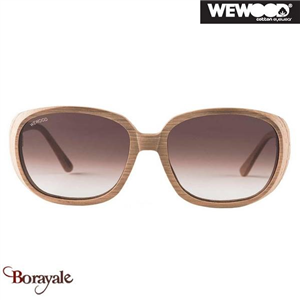 Lunette de soleil WEWOOD Cotton Eyewear LYRA OAK-BROWN GRAD 92003150407