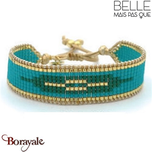 Bracelet Belle mais pas que Collection Gold Bora Bora B-1356-GBB