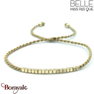 "Bracelet ""Belle mais pas que"" collection Golden Summer B-772-GSU"