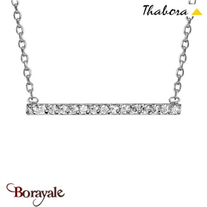 Collier argent THABORA T03838O