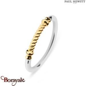 Bague Portside Acier & IP Doré - Taille 52  PAUL HEWITT Collection Portside PH-F