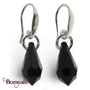 Boucles d'oreilles SPARK bijoux made with Swarovski Elements A39N
