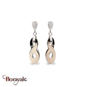 Boucles d'oreilles SPARK bijoux made with Swarovski Elements A449MLG