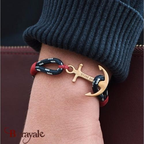 Bracelet ancre de marine tom hope pacific red s