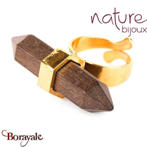 Collection Wood Diamonds, Bague Nature Bijoux 19--23480