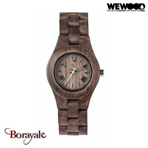 Montre en bois WEWOOD CRISS Choco Rough 70210-511