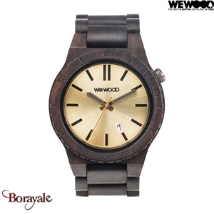 Montre en bois WEWOOD ARROW Black gold 70328-306