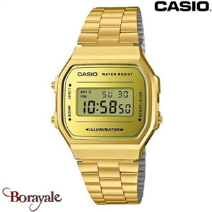 Montre CASIO Vintage collection A168WEGM-9EF