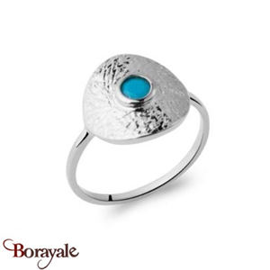 Argent 925° : Bague Collection Turquoise