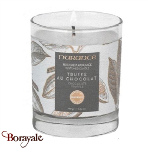 Bougie traditionnelle DURANCE 180g Truffe au chocolat