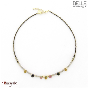 Collier -Belle mais pas que- collection Hiba C1 HIBA-C1