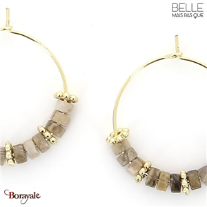 Boucles d'oreilles -Belle mais pas que- collection Mila BO6 MILA2-BO6