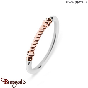 Bague Portside Acier & IP Rose - Taille 52  PAUL HEWITT Collection Portside PH-F