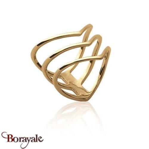 bague or geometrique