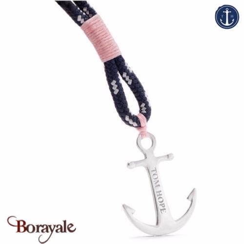 Bracelet ancre de marine tom hope coral pink s