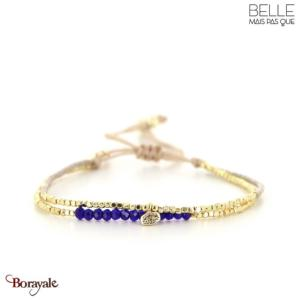 bracelet -Belle mais pas que- collection Winter Deep Blue B-1817-WDEEP