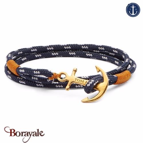 Bracelet ancre de marine tom hope 24k l