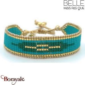 "Bracelet ""Belle mais pas que"" Collection Gold Bora Bora B-1356-GBB"