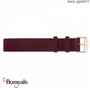 Bracelet de montre PAUL HEWITT perlon PH-PS-R-19M