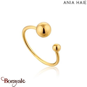Out Of This World, Bague Argent Plaqué OR ANIA HAIE R001-03G
