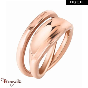 Bague -BREIL MILANO- collection Hypnosis TJ1968 taille 56