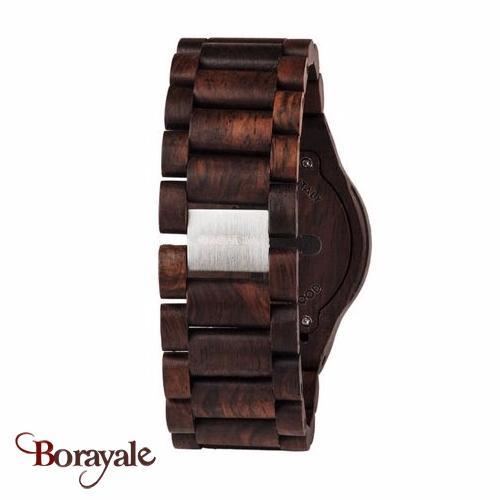 montre en bois wewood homme oblivio chocolate 70332 500. Black Bedroom Furniture Sets. Home Design Ideas