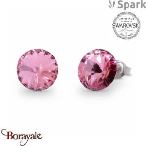 Boucles d'oreilles SPARK collection Candy made with Swarovski Elements A129F