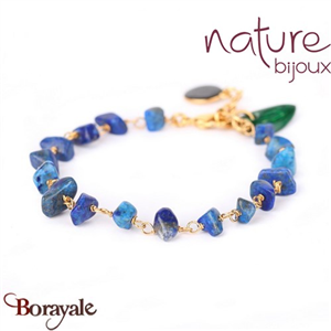 Collection Agapanthe, Bracelet Nature Bijoux 13--31432