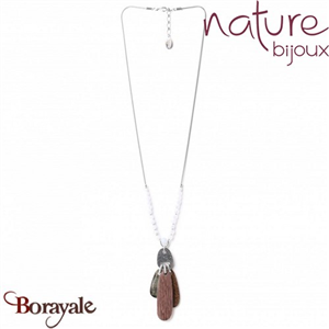 Collection Cloudy, Collier Nature Bijoux 15--28013
