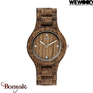 Montre en bois WEWOOD ANTÉA Nut Rough Fabric 70220-732