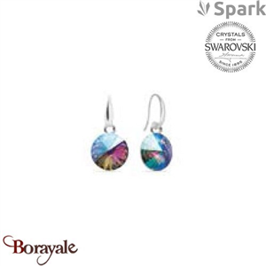 Boucles d'oreilles SPARK collection Candy made with Swarovski Elements A126PS