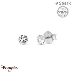 Boucles d'oreilles SPARK made with Swarovski Elements collection Dotty A680W
