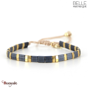 bracelet -Belle mais pas que- collection Gold Pastel Green B-1801-PASTL