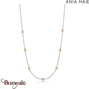 Out of this world, Collier Argent et plaqué Or rose ANIA HAIE N001-04T