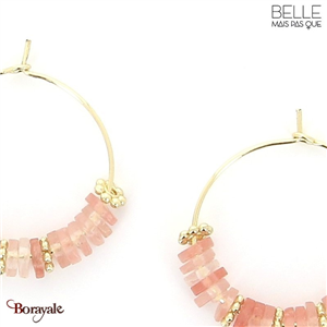 Boucles d'oreilles -Belle mais pas que- collection NoaMay BO9 NOAMAY-BO9