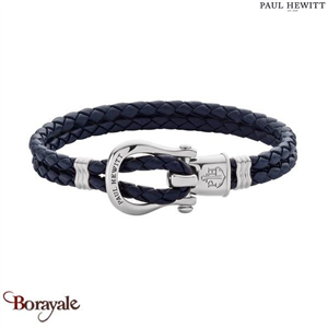 Bracelet -PAUL HEWITT- collection Manille - cuir PH-FSH-L-S-N-M taille M