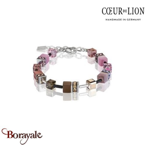 Nuance : 1119, Bracelet Cœur de lion with SWAROVSKI Elements bijoux