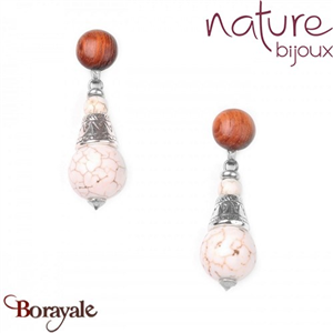 Collection Casablanca, Boucles d'oreilles NATURE 12--71003