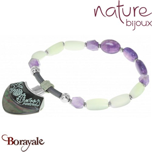 Collection Nymphéas, Bracelet NATURE Bijoux 13--29746