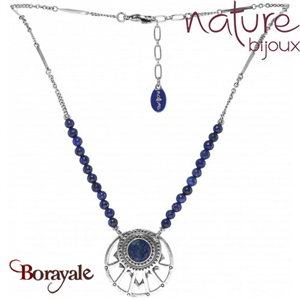Collection Cobalt, Collier NATURE Bijoux 15--26797