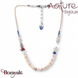 Collection BAHIA, Collier Nature bijoux 15--27175