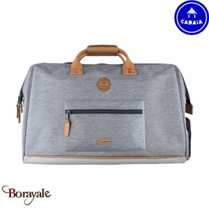 Sac de voyages - sport CABAIA Nylon New-York Gris